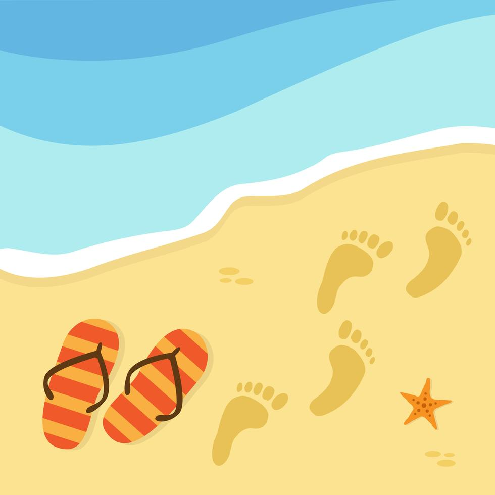vector-summer-time-and-beach
