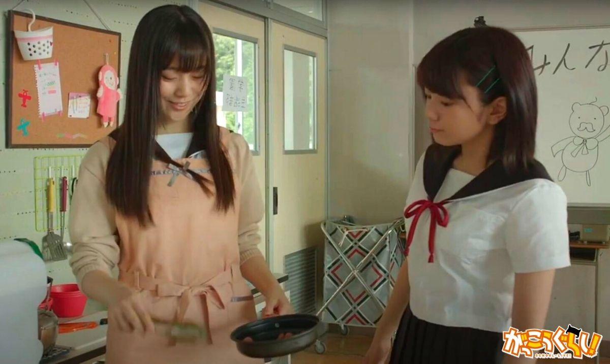 Extrait du film School-live! (Yûri et Yuki).